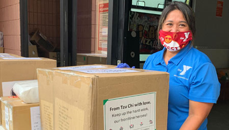 UH helps distribute PPE donations to behavioral health, homelessness providers