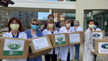 Buddhist Tzu Chi Foundation Provides Substantial PPE Donation