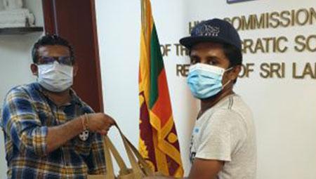 Coronavirus: Buddhist charity donates relief bags to Sri Lankan students studying here