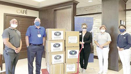 Tzu Chi donates PPEs to OakBend