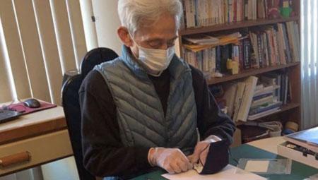 助人最樂…慈濟愛心口罩 80歲志工趕製
