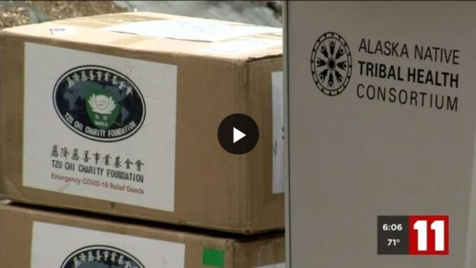 Taiwanese government and Tzu Chi Foundation donate additional 12,320 PPE items to Alaska