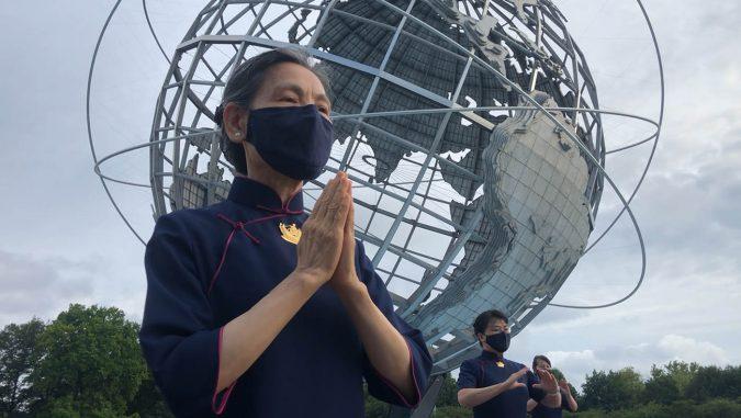 紐約慈濟志工潛心入法。圖片來源/紐約慈濟分會