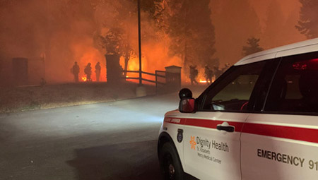 Help for fire victims announced by the United Way