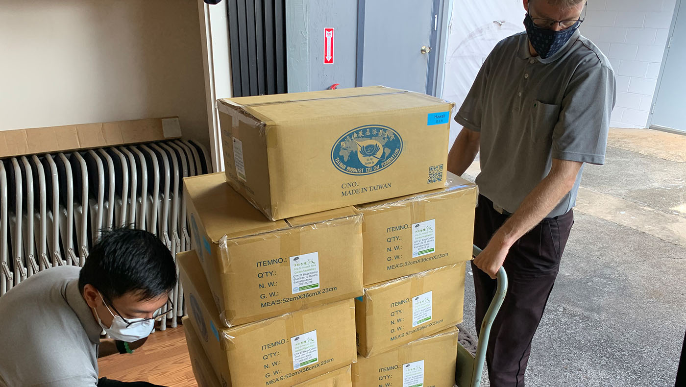 TzuchiUA-Hawaii_Nanaikapono Elementary School Jing Si Rice Distribution_0001_20201207 – 20201215_Nānākuli-Wai'anae-Compl