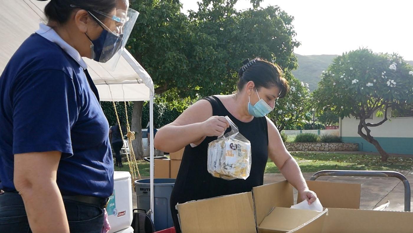 TzuchiUA-Hawaii_Nanaikapono Elementary School Jing Si Rice Distribution_0000_20201207 – 20201215_Nānākuli-Wai'anae-Compl