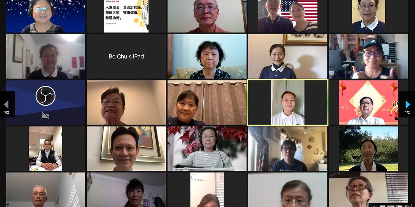 TzuchiUSA-medical-foundation-study-group_0001_自2021年1月7日起,號召願意聞法的志工參與每周四下午4_45至6_20的讀書會,一起研討《靜思法髓妙蓮華》。
