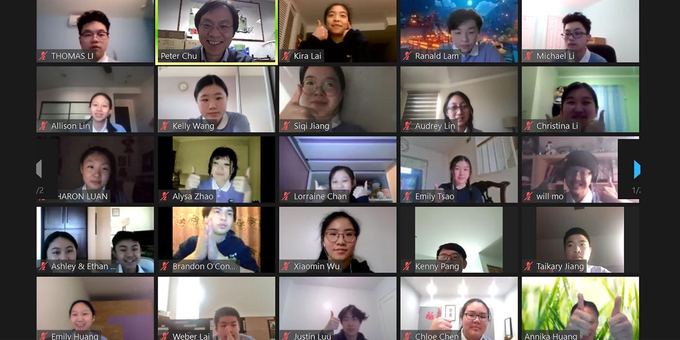 TzuchiUSA-NY Tzu Shao and LA Tzu Shao Teaching Eng_0000_紐約和東洛杉磯慈少對中寮國中學生的認真大為讚賞_(朱澤人截屏) (2)