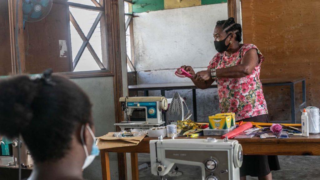 TZUCHICenter-07142021-10-TzuChiHaiti-Launches-Powerful-Training-Program-Impoverished- Women