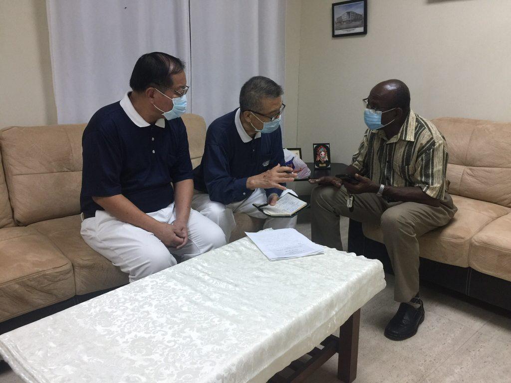 20210905_Haiti_James SB meet Father Zucchi (3)