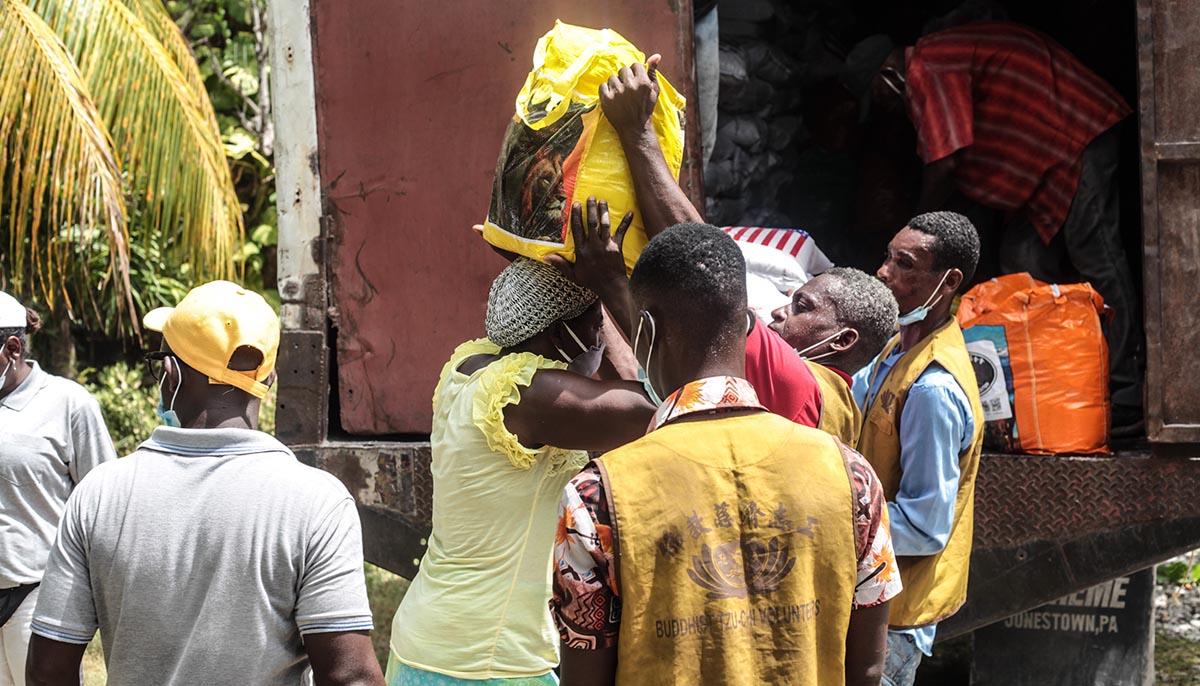 8-20210910-TzuChi_Haiti Earthquake