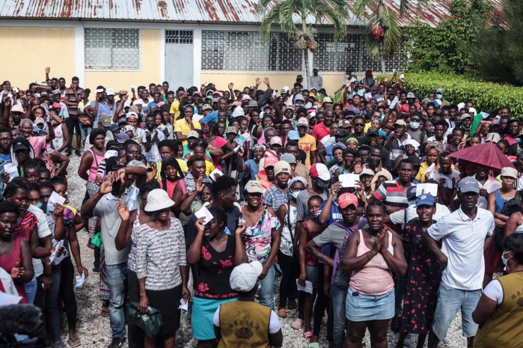 5-20210911-TzuChi_Haiti Earthquake