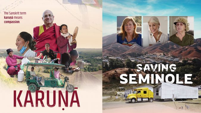 "Encore Screening of ""Karuna"" and Premiere of ""Saving Seminole"""