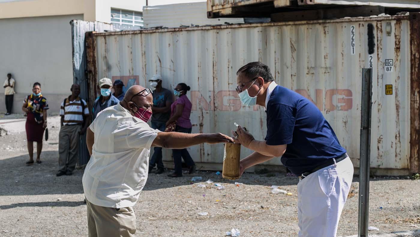 TzuChiUSA-07132021-b2-1-Rice-Distributions-Resume-Haiti-Relieving-Hunger- Despair