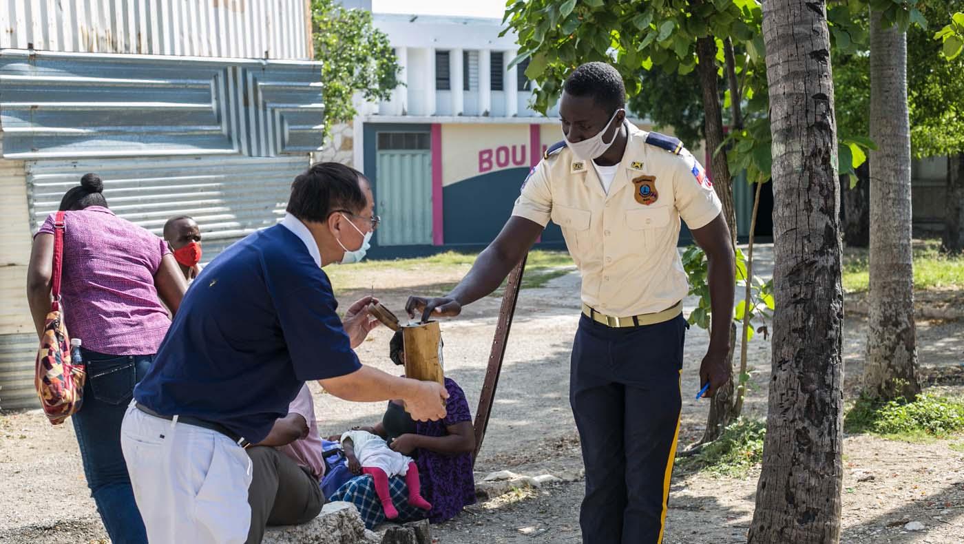 TzuChiUSA-07132021-b2-2-Rice-Distributions-Resume-Haiti-Relieving-Hunger- Despair