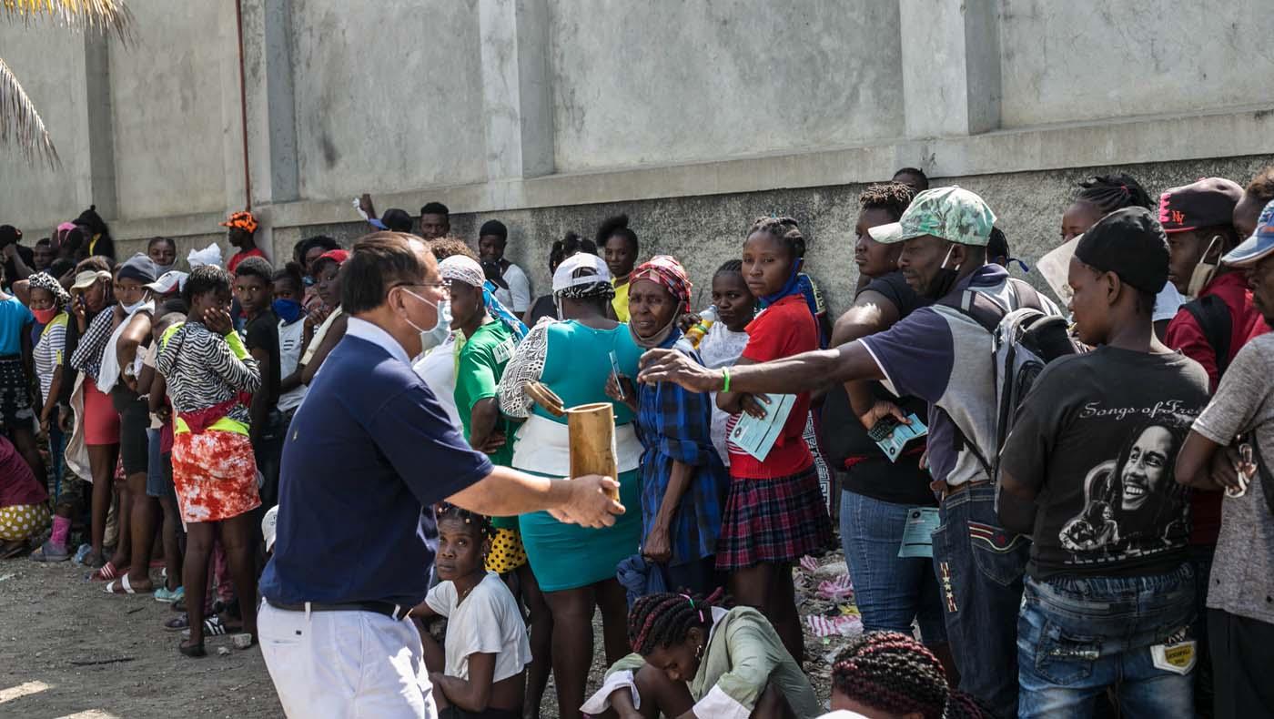 TzuChiUSA-07132021-b2-3-Rice-Distributions-Resume-Haiti-Relieving-Hunger- Despair