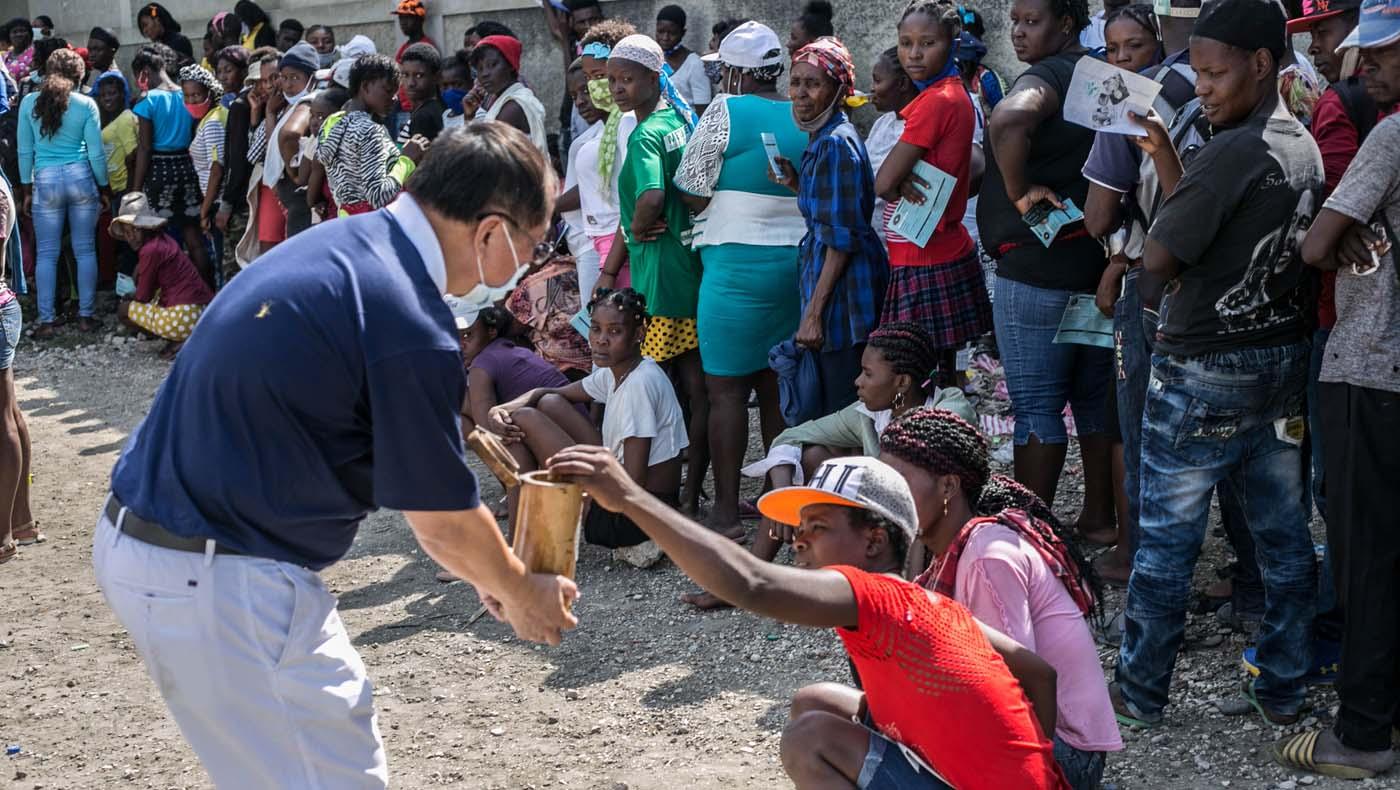 TzuChiUSA-07132021-b2-5-Rice-Distributions-Resume-Haiti-Relieving-Hunger- Despair