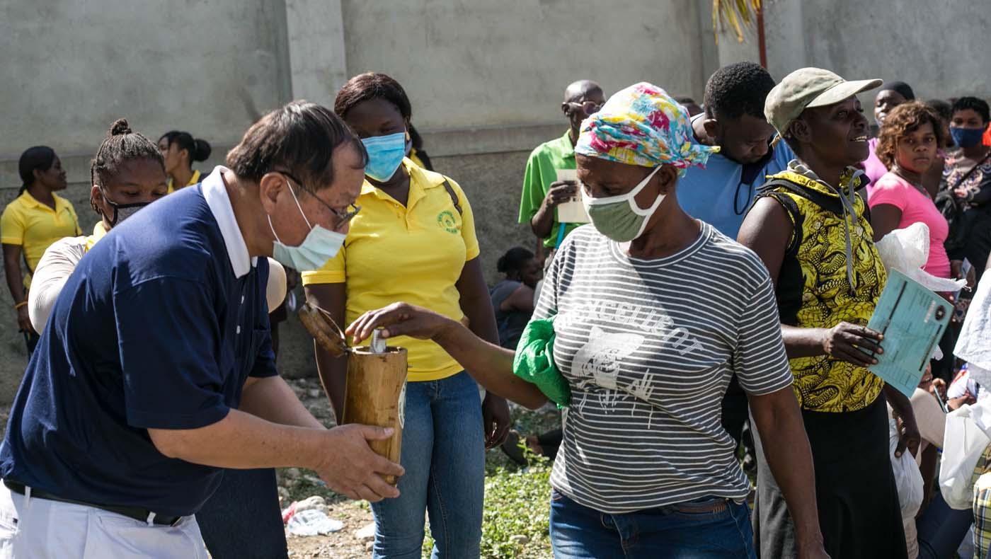 TzuChiUSA-07132021-b2-8-Rice-Distributions-Resume-Haiti-Relieving-Hunger- Despair