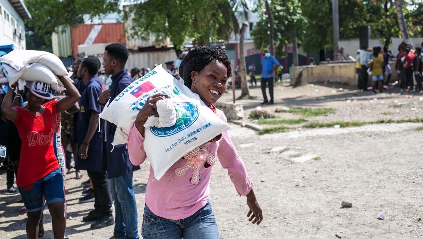 TzuChiUSA-07132021-b3-2-Rice-Distributions-Resume-Haiti-Relieving-Hunger- Despair