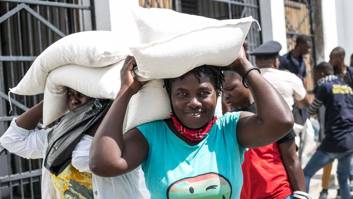 TzuChiUSA-07132021-b3-3-Rice-Distributions-Resume-Haiti-Relieving-Hunger- Despair