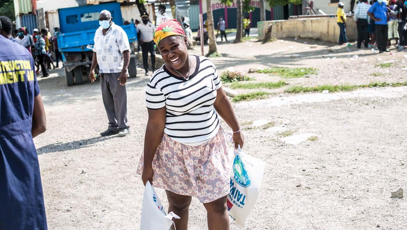 TzuChiUSA-07132021-b3-5-Rice-Distributions-Resume-Haiti-Relieving-Hunger- Despair