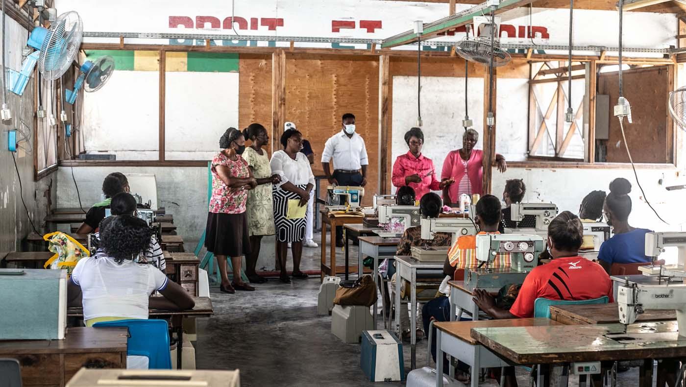 TZUCHICenter-07142021-2-TzuChiHaiti-Launches-Powerful-Training-Program-Impoverished- Women