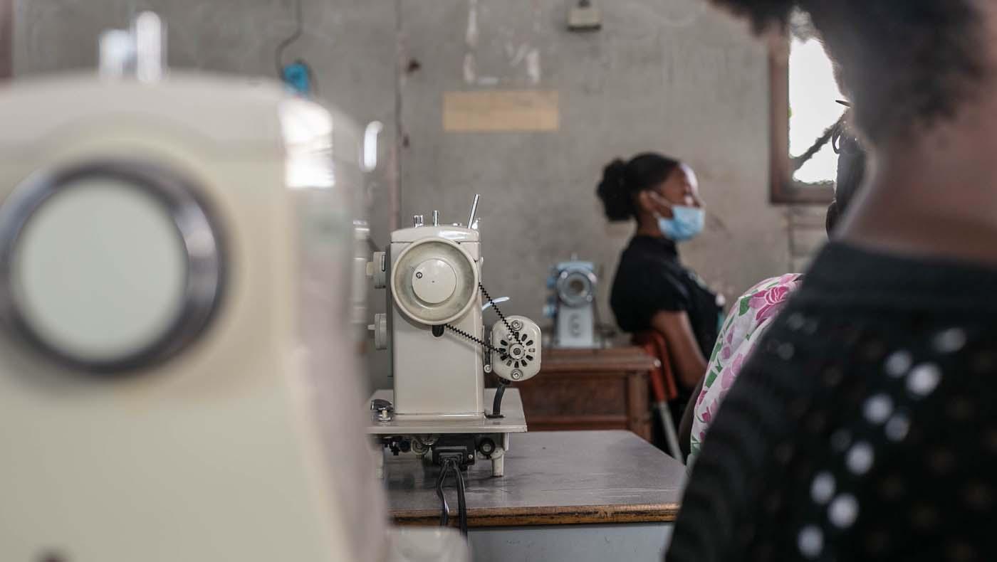 TZUCHICenter-07142021-3-TzuChiHaiti-Launches-Powerful-Training-Program-Impoverished- Women