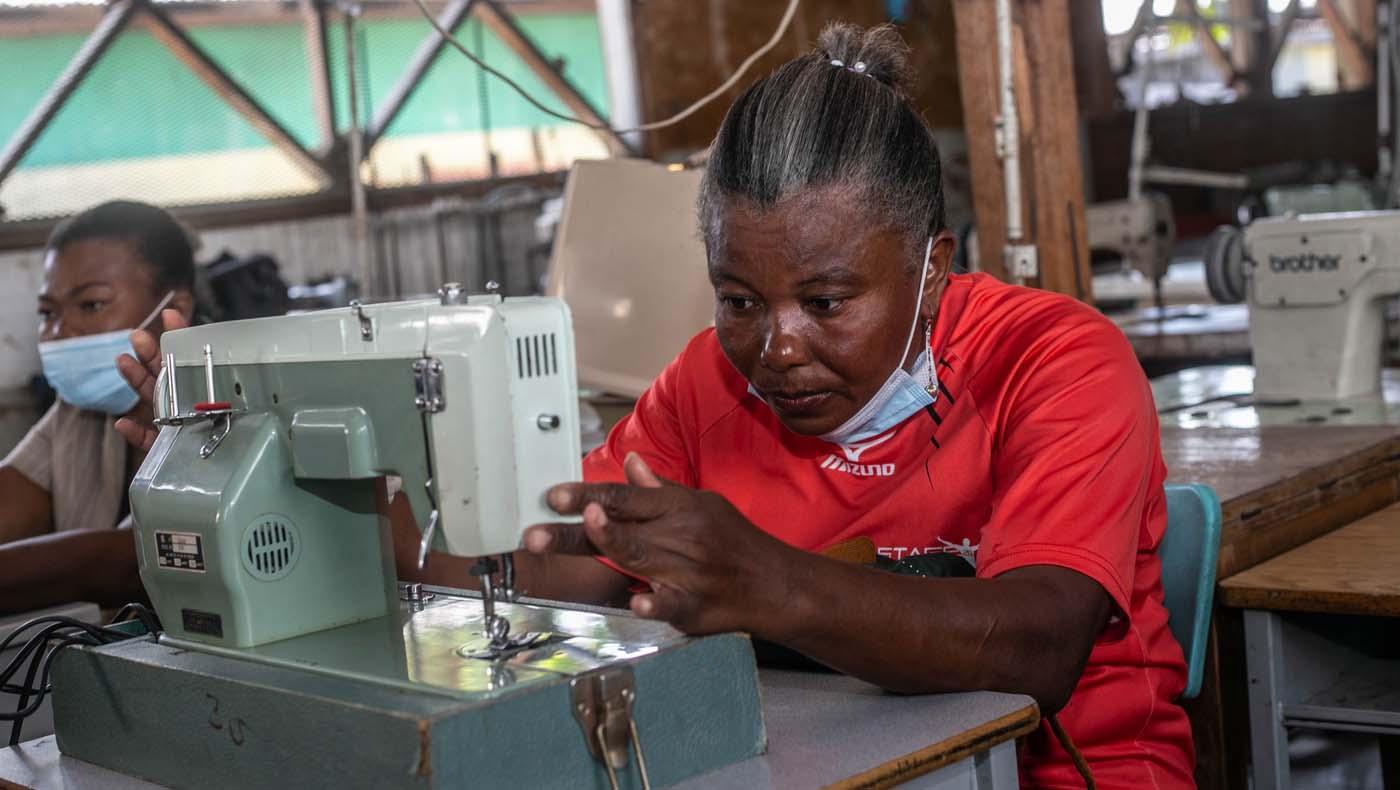 TZUCHICenter-07142021-5-TzuChiHaiti-Launches-Powerful-Training-Program-Impoverished- Women