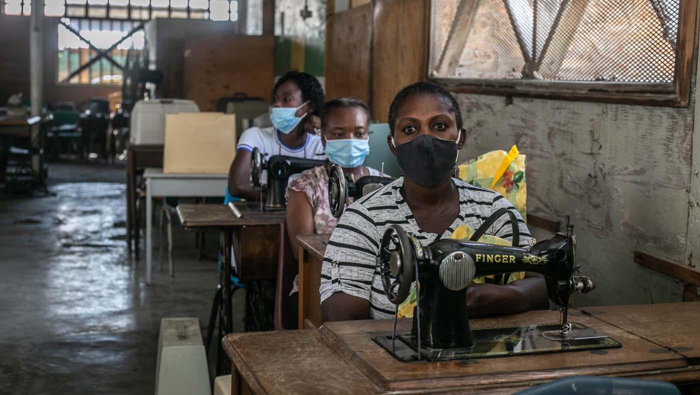 TZUCHICenter-07142021-13-TzuChiHaiti-Launches-Powerful-Training-Program-Impoverished- Women