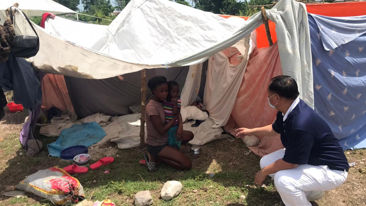2-TzuChiUSA-Assessing Conditions Haiti After-August-2021 Earthquake