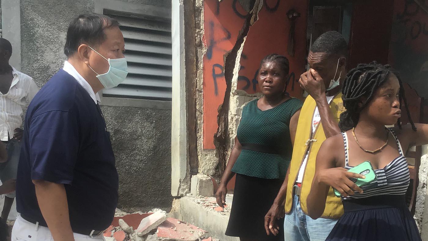11-TzuChiUSA-Assessing Conditions Haiti After-August-2021 Earthquake