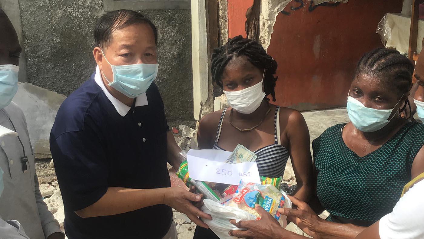 12-TzuChiUSA-Assessing Conditions Haiti After-August-2021 Earthquake