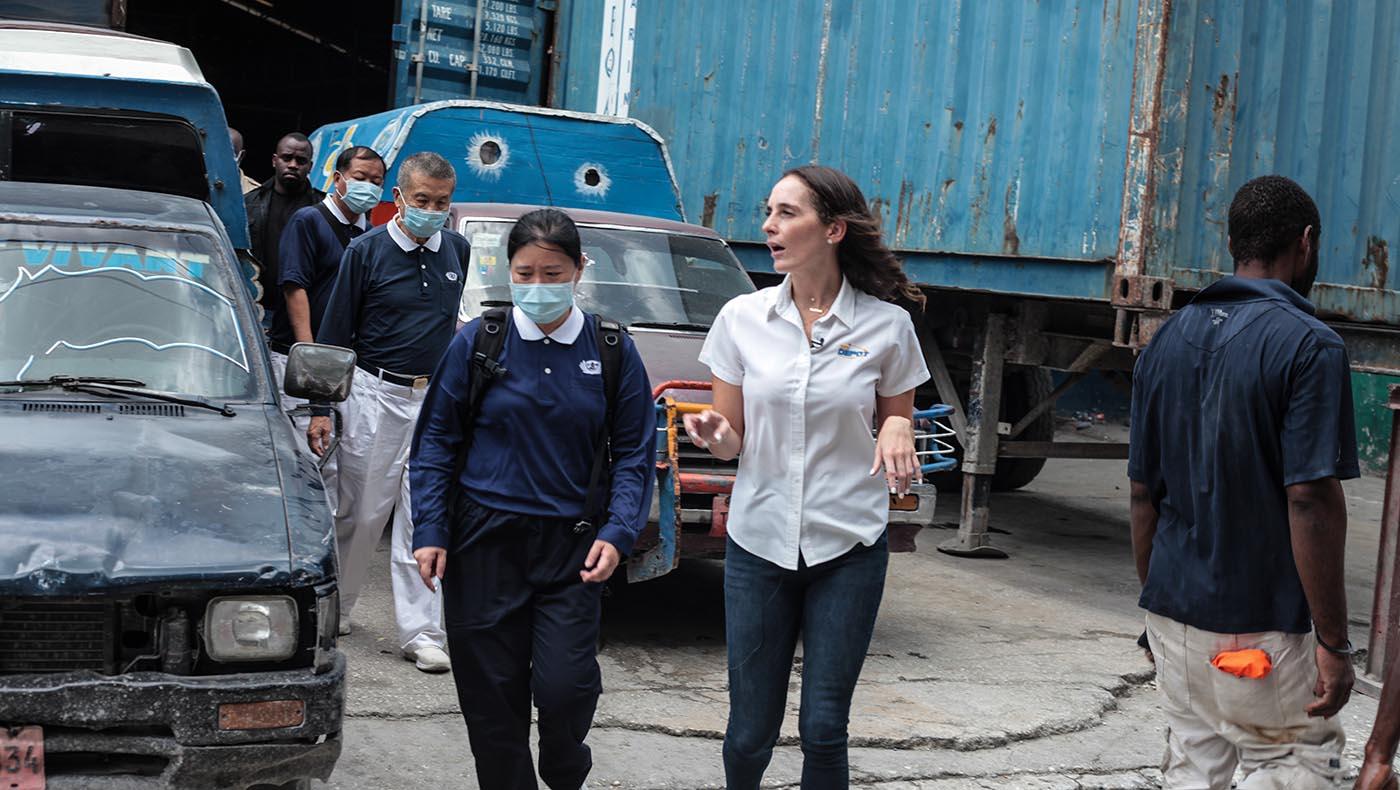 12-s2-1-TCC-Tzu Chi Haiti Earthquake Response Team Gears Up Aid Distributions