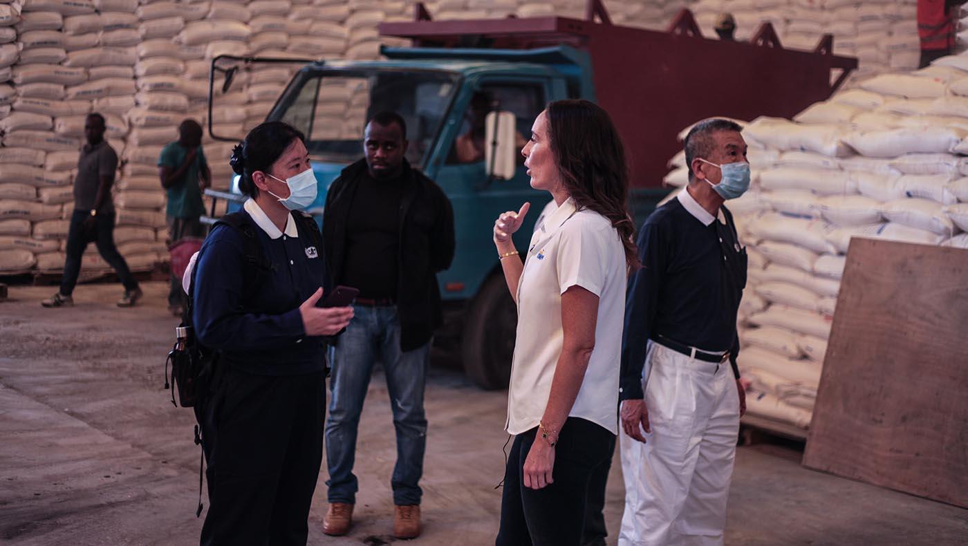 12-s2-3-TCC-Tzu Chi Haiti Earthquake Response Team Gears Up Aid Distributions