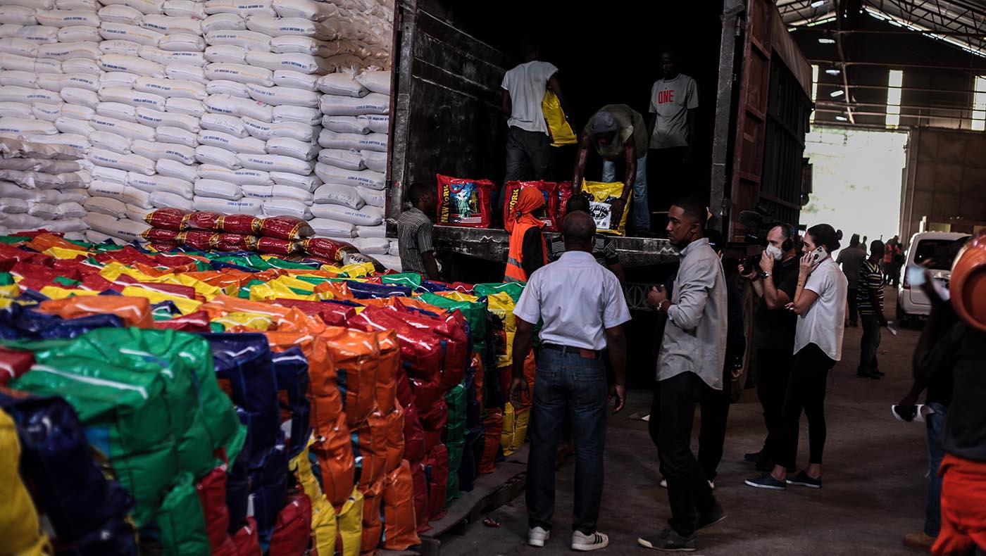 18-TCC-Tzu Chi Haiti Earthquake Response Team Gears Up Aid Distributions