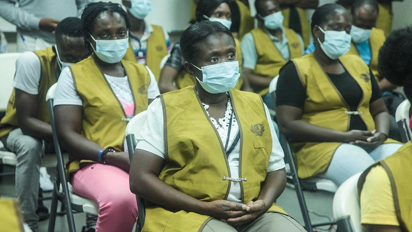 2-s1-6-TCC-TzuChi-Teamwork Reigns in Haiti During Tzu Chi's 2021 Earthquake Relief Mission