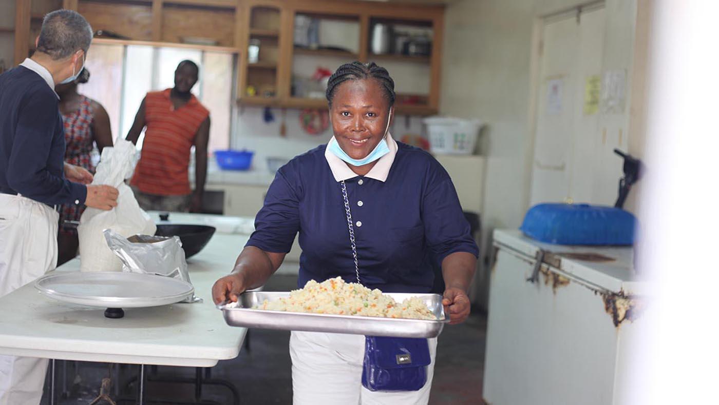3-s2-3-TCC-TzuChi-Teamwork Reigns in Haiti During Tzu Chi's 2021 Earthquake Relief Mission