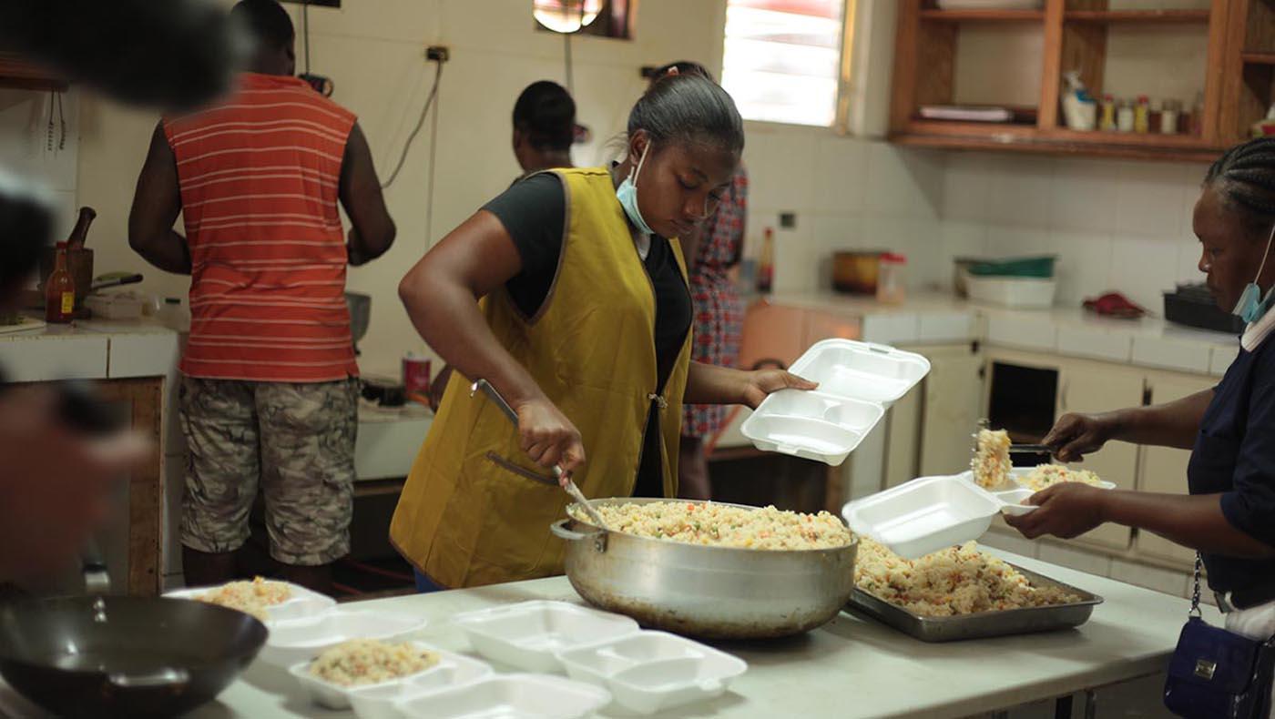 4-s3-1-TCC-TzuChi-Teamwork Reigns in Haiti During Tzu Chi's 2021 Earthquake Relief Mission