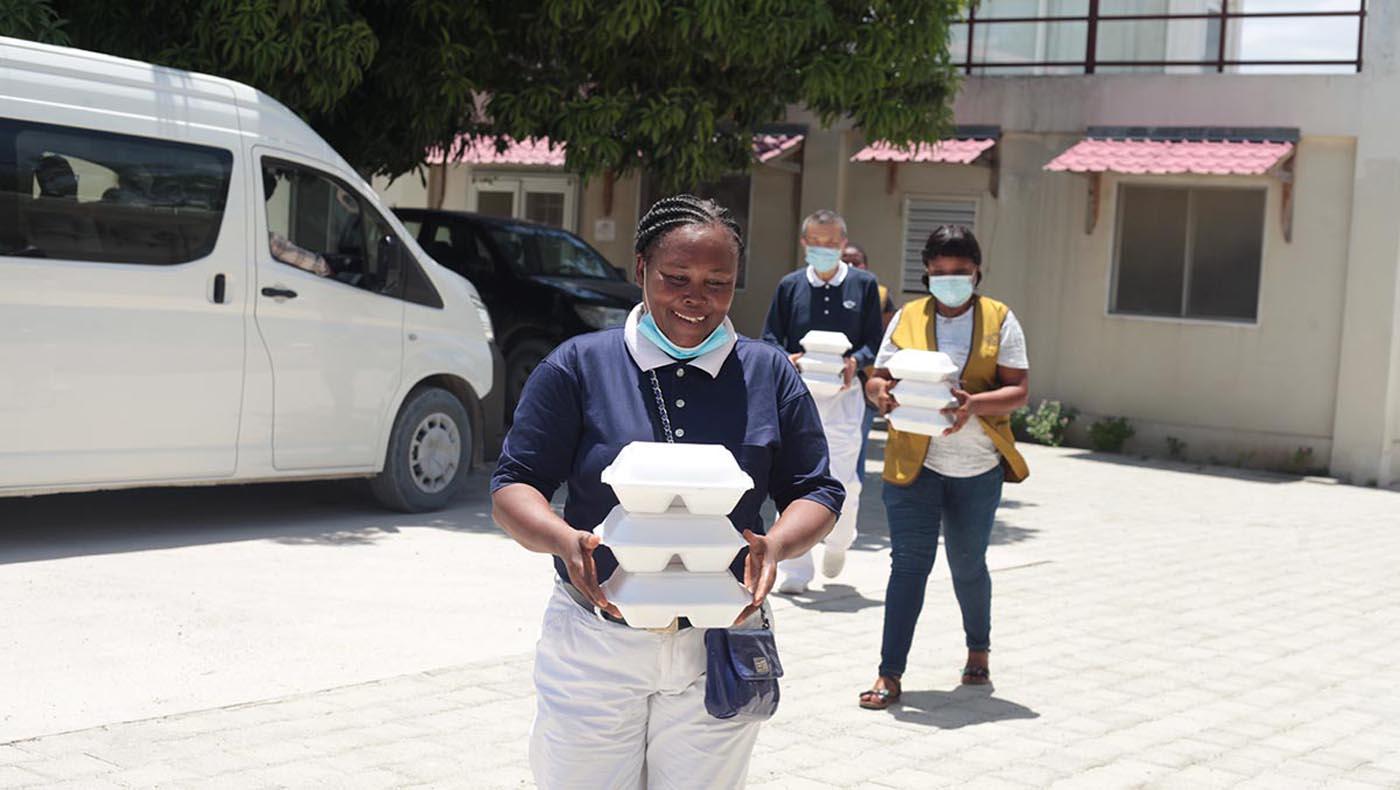 4-s3-2-TCC-TzuChi-Teamwork Reigns in Haiti During Tzu Chi's 2021 Earthquake Relief Mission