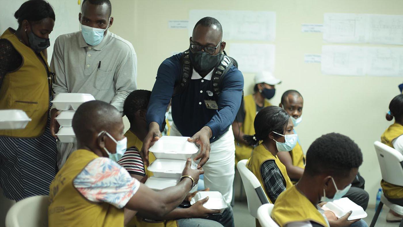 4-s3-3-TCC-TzuChi-Teamwork Reigns in Haiti During Tzu Chi's 2021 Earthquake Relief Mission